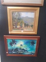 Sale 8833 - Lot 2069 - Pair of Framed Oil Paintings