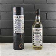 Sale 8996W - Lot 720 - 1x 2007 Clan Denny Glengoyne Distillery 10YO Single Cask Highland Single Malt Scotch Whisky - 48% ABV, 700ml in canister, only 12...