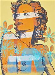 Sale 8901A - Lot 5076 - David Bromley (1960 - ) - Hilary 29 x 21 cm