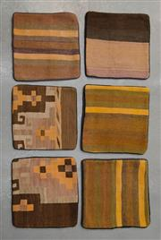 Sale 8493C - Lot 41 - 6 x Kilim Cushion Covers 40cm x 40cm