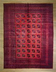 Sale 8693C - Lot 38 - Vintage Afghan Turkman 335cm x 255cm