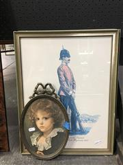 Sale 8752 - Lot 2053 - 5 Works: 4 Framed Military Prints Plus another Print