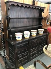 Sale 8868 - Lot 1545 - Spanish Style Buffet & Hutch