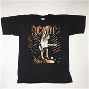 Sale 8893M - Lot 23 - ACDC Stiff Upper Lip Tour with Misprint and World Tour 2000 Tee Shirts, both size XXL