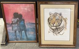 Sale 9103 - Lot 2092 - A Box of assorted Decorative Prints incl. Hugh Sawrey Vintage Print