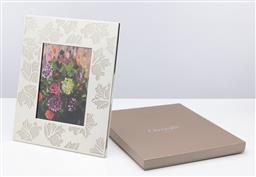 Sale 9255H - Lot 56 - A Christofle silver-plated Botanica picture frame, 29cm x 24cm, RRP $695.