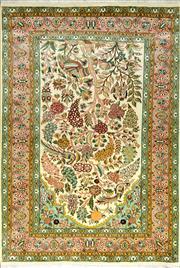 Sale 8338C - Lot 48 - Kashmiri Silk 185cm x 123cm