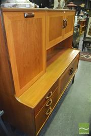 Sale 8395 - Lot 1076 - G-Plan Teak Highboard