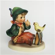 Sale 8456B - Lot 63 - Hummel Figure of a Boy with Bird