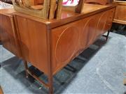 Sale 8705 - Lot 1021 - Nathan Circular Teak Sideboard