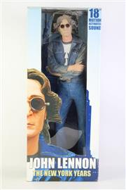 Sale 8827T - Lot 681 - NECA 18 Motion Activated Sound Model of John Lennon