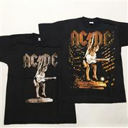 Sale 8893M - Lot 34 - ACDC Siff Upper Lip Tour and World Tour 2000 Tee Shirts, both size L