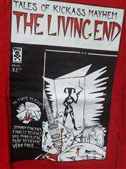 Sale 8926M - Lot 12 - Melbourne Band T-Shirts incl. The Living End, Mark of Cain & Juke Cartel (signed) (10)