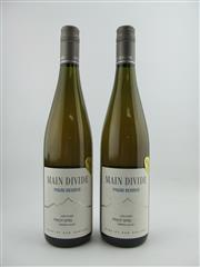 Sale 8353A - Lot 826 - 2x 2009 Main Divide Late Picked Pinot Gris, Waipara Valley