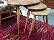 Sale 8476 - Lot 1089 - An Ercol Pebbles Nest of Tables