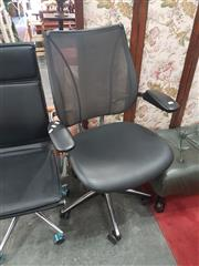 Sale 8676 - Lot 1123 - Schiavello Humanscale Office Chair with Liberty Mesh Back