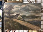 Sale 8841 - Lot 2085 - Artist Unknown - Oil on Canvas - Riverside SLR