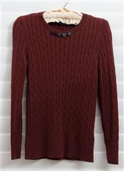 Sale 8902H - Lot 130 - A Henri Lloyd cable knit sweater in brown, size S
