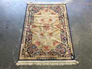 Sale 9006 - Lot 1065 - Silk Blend Floor Rug (140 x 97cm)