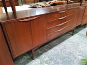Sale 8421 - Lot 1087 - Quality 1960s Teak Sideboard