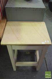 Sale 8390 - Lot 1239 - Sandstone Top Table