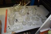 Sale 8509 - Lot 2236 - Collection of Crystal Wares