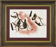 Sale 8762 - Lot 2047 - Ronald Steuart (1898 -1988) - Banksia 39 x 51cm