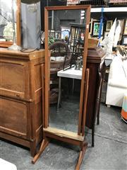 Sale 8801 - Lot 1079 - Parker Teak Cheval Mirror