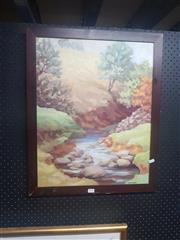 Sale 8833 - Lot 2078 - O.A. Nicholson - Oil Painting - SLL