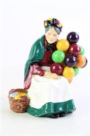 Sale 8860 - Lot 50 - Royal Doulton Figure The Old Balloon Seller (H 19.5cm) HN.1315