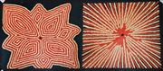 Sale 9004 - Lot 2022 - Priscilla Adamson - Desert Grass and Flowers 50 x 120 cm (stretched and ready to hang)