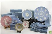 Sale 8490 - Lot 222 - Large Wedgewood Collection Of Plates, Dishes & Teacups Including Some Limited Edition Examples