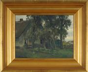 Sale 8878 - Lot 2001 - Johannes Cornelius Roelandse (1888-1978) - Farmhouse 23 x 31.5 cm