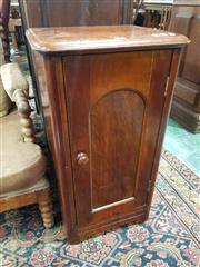 Sale 8939 - Lot 1073 - Late 19th Century Cedar Bedside Cabinet, with single panel door. H: 75.5, W: 41.5, D: 35cm
