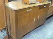 Sale 7943A - Lot 1513 - Timber 2 Door 2 Drawer Sideboard