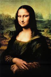 Sale 8330A - Lot 126 - Leonardo Da Vinci (1452 - 1519) - Mona Lisa 90 x 60cm