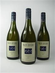 Sale 8335W - Lot 657 - 3x 2004 Main Divide Chardonnay, Waipara