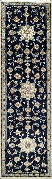 Sale 8338C - Lot 50 - Persian Tabas Nain 300cm x 80cm