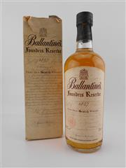 Sale 8498 - Lot 2015 - 1x Ballantines Founders Reserve Very Old Scotch Whisky - old bottling, in box