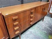 Sale 8493 - Lot 1097 - Good Quality White & Newton Teak Sideboard