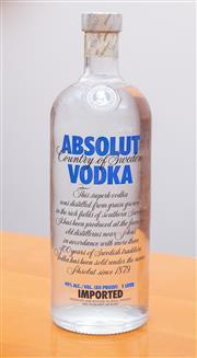 Sale 8891H - Lot 86 - A bottle of Absolute Vodka 1L