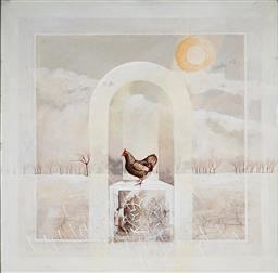 Sale 9047A - Lot 5033 - John Winch (1944 - 2007) - Homage Series I, 1979 90 x 90 cm (frame: 105 x 105 x 4cm)