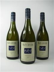 Sale 8335W - Lot 658 - 3x 2004 Main Divide Chardonnay, Waipara