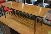 Sale 8364 - Lot 1084 - Vintage Teak Coffee Table