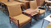 Sale 8409 - Lot 1045 - Pair of Vintage Lounge Chairs with Paddle Arms