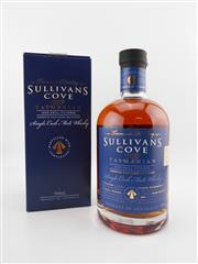 Sale 8498 - Lot 1717 - 1x Sullivans Cove French Oak Cask Single Malt Tasmanian Whisky - barrel no. TD0113, barrel date 23/06/2005, bottle no. 290/245, bo...