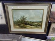 Sale 8483 - Lot 2045 - Norman Robbins, Landscape, Acrylic, 50x34cm