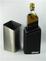 Sale 8290 - Lot 481 - 1x Johnnie Walker Blue Label Blended Scotch Whisky - Porsche Design Studio Limited Edition, 700ml in ice-bucket box