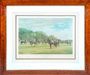Sale 8346A - Lot 49 - Madeline Selfe - The Oaks Stakes, 10th June, 1978 total H 84 x 101cm