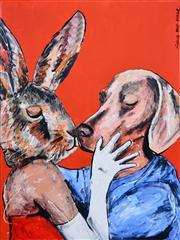 Sale 8363 - Lot 531 - Gille & Marc (XX - ) - Their First Kiss 120 x 90cm